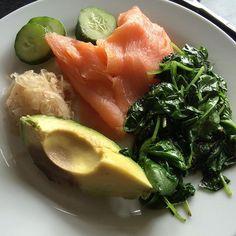 Salmon for dinner#paleo #paleolifestyle #paleoliving #cavemandiet #grainfree #lowcarb #paleolife #paleofood #paleodiet #eatforhealth #dairyfree  #wheatfree #glutenfree #primal #cleaneating #health #nutrition #cleanfood #ilovepaleo #healing #guthealth #foodisfuel #paleodinner by paleo_life1