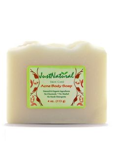 Acne Body Soap Natural help for Pimples and Blemish Treatment