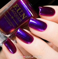 FUN Lacquer:  Cheers to the Holiday