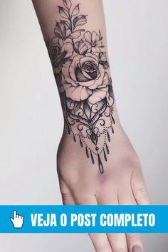 Hand Tattoos, Sleeve Tattoos, Tatoos, Back Tattoo Women, Tattoos For Women Small, Tattoo Rosa Na Mao, Mehndi Designs, Tattoo Designs, Muster Tattoos
