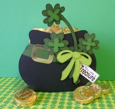 nice job....could also use the pot of gold for a cauldron for Halloween...