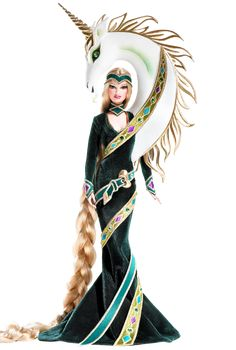 Lady of the Unicorns™ Barbie® Doll by Bob Mackie | Barbie Collector 2008