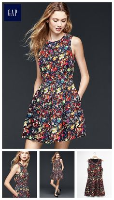 Confetti fit & flare dress ($79.95)