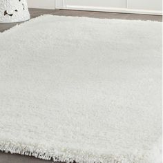 Shop Wayfair for Safavieh Shag White Area Rug - Great Deals on all Decor products with the best selection to choose from!