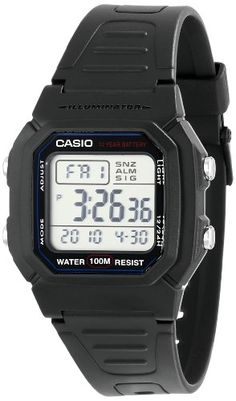 """Casio Men's W800h-1Av """"Classic"""" Sport Watch With Black Band, 2015 Amazon Top Rated Sport Watches #Watch"""