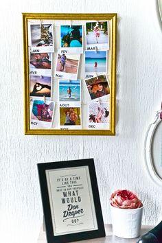 Polaroid frame picture ideas pinterest polaroid frame room diy mon calendrier printic negle Choice Image