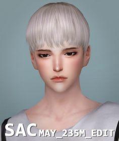 S-SAC: May 235M hair edit • Sims 4 Downloads