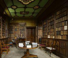 Penshurst Place ~ Neo Jacobean library in President's Tower