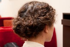3 DIY updos for super-curly hair. Photos by Shilpi Tomar.
