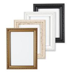 Ornate Shabby Chic Picture frame photo frame poster frame White Gold or Black