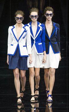 Emporio Armani - MFW Spring/Summer 2015 - www.so-sophisticated.com