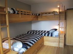 Another good bunk bed idea.