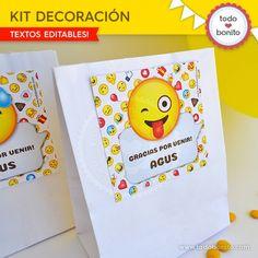 Emojis: kit decoración