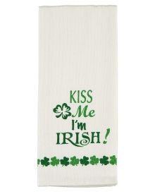 'Kiss Me I'm Irish' Kitchen Towel