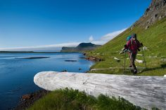 Ski down volcanic mountains, surf the North Atlantic swells, and hike over tundra in search of Arctic foxes in the far corners of this ancient island.