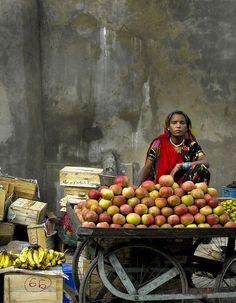 Indischer Alltag integriert