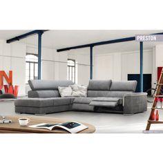 Preston ülőgarnitúra - rendelhető opció: elektromos relax funkció , ágyazható kanapé: Easy System , Simple System