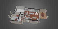 Congo Systems : 3D Floorplan