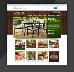 Custom ebay store, beautifully design for Garden Furnitures  http://www.estore-services.com/ebay-store-designs.html