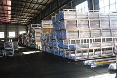 aluminium profile warehouse