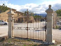 Drive Gates, Fence Gate Design, Deck, Outdoor Decor, Mary, Interior, House, Home Decor, Gardens