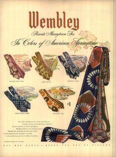 1944 Wembley Ties Advertisement
