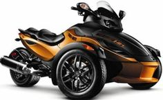 Can-Am Spyder. I must have it. Somehow someway there is a conversation with my wife happening in the near future involving you.