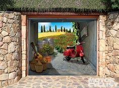 Paint your garage door idea's