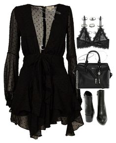 """""""Untitled #1852"""" by breannaflorence on Polyvore featuring For Love & Lemons, Very Volatile, Alexander McQueen, Humble Chic, Alinka, Anine Bing and Estella Bartlett"""