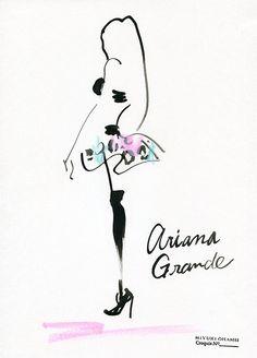 Ariana Grande at Victria's Secret 2014