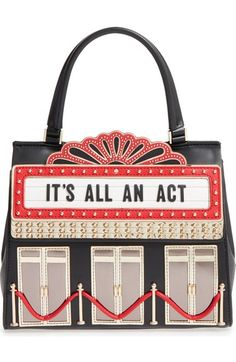 kate spade new york dress the part - 3d theater handbag available at #Nordstrom