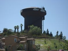 Fletcher Hills Water Tower