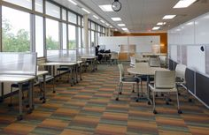KI furniture is incredibly proud and honored to be able to be a part of Fox Valley Technical College's Student Success Center. The hi-tech facility features added space for innovative study rooms and computer labs, as well as easier access to tutors, faculty members, and staff. #Educational #Furniture #Strive #Portico