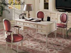 Итальянский письменный стол 207/5 Angelo Cappellini купить в Москве в Prima  Mobili