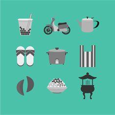 Life of Taiwan illustration - Wan-Ting Liao | Visual Interaction Designer