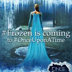 #FrozenIsComing to Once Upon a Time!