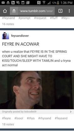 """Why is no one talking about the end of acomaf when the king says your """"master"""" (the tool) had made a deal and u will work with me to destroy the wall?! Like I'm flipping out she is going to be working with the king I don't want her to get that close to the king and Jurien I'm just realizing how close to being discovered she could become"""