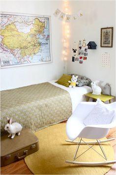 Ideal para tus hijos, colores pasteles para un dormitorio mas amplio.