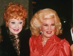 Lucille Ball & Ginger Rogers Lucy and Ginger Rogers. Hollywood Glamour, Classic Hollywood, Old Hollywood, Golden Girls, Golden Age, Hollywood Picture, Lucy And Ricky, A Fine Romance, Fred And Ginger