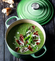 This is our new twist on the classic pea and ham soup, quicker to make but still just as tasty. Get creative and use mixed seeds instead of croutons to create crunch.
