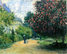 Le Parc Monceau, 1876, Claude Oscar Monet.