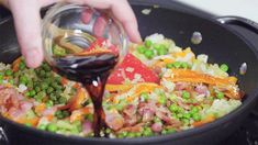 How to Make Fried Rice That's Better Than Takeout Rice Recipes, Asian Recipes, Cooking Recipes, Ethnic Recipes, Red Rice Recipe, Making Fried Rice, Rice Grain, Pasta