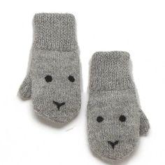 Alpaca Bunny Mittens