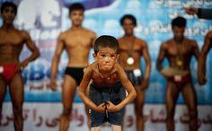 Les enfants participe aux compétition de bodybuilding Pro !
