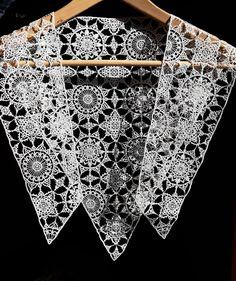 Grace Gamble Renaissance Fashion, Needle Lace, Black Silk, Tudor, Floral, Modern, Pattern, Design, Lace Embroidery