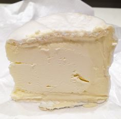 A recipe for making a triple creme cheese