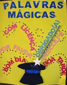 """Olá meninas, resolvi postar esse lindo poema:     """"Palavras Mágicas"""" de Pedro Bandeira.      Aproveito e também estou postando algumas..."""