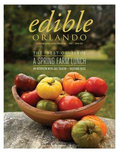 Edible Orlando Issue Seven - Spring 2012