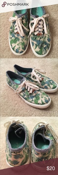 Van Style Shoes These shoes are very cute and casual. They have never been worn so they're in perfect condition. Vans Shoes Sneakers