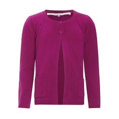 Buy John Lewis Girl Button Neck Cardigan Online at johnlewis.com